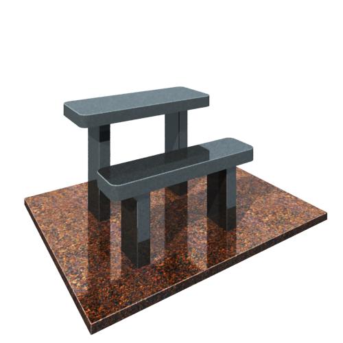 Комплект: стол и скамейка