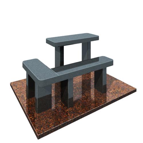 Комплект: стол и угловая скамейка