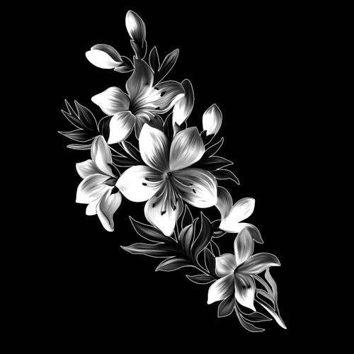 Цветок 75